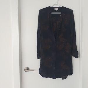 Wilfred 100% silk dress DS size